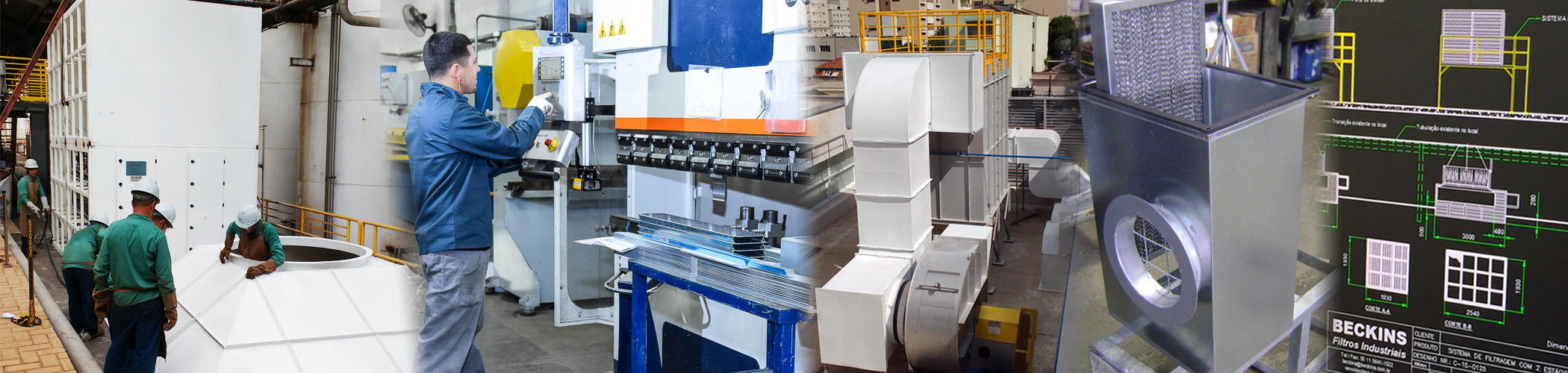 Beckins Filtros, a especialista em Sistemas de Filtragem